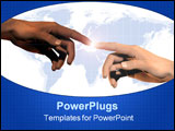 PowerPoint Template - Global connection