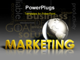 PowerPoint Template - Global Marketing Strategy Campaign as a Art
