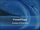 PowerPoint Template - graphical abstract dark background
