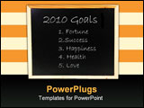 PowerPoint Template - Resolutions and objectives for the new year