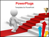 PowerPoint Template - you are on the right way for success