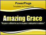 PowerPoint Template - A popular Bible verse that describes God