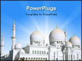 PowerPoint Template - Sheikh Zayed Mosque is Largest in United Arab Emirates