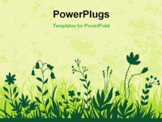 PowerPoint Template - Flower background