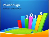 PowerPoint Template - Growth in 2013