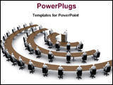 PowerPoint Template - image of a assembly convention