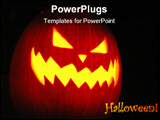 PowerPoint Template - jack-o-latern