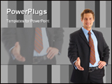 PowerPoint Template - Successful Businessman