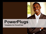 PowerPoint Template - man smiling in business suit