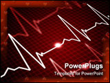 PowerPoint Template - Facilities with the image of the heart rate