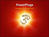 PowerPoint Template - OM, the sign of hinduism