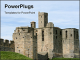 PowerPoint Template - Warkworth Castle in Northumberland is full of history