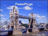 PowerPoint Template - Tower bridge and the river Thames London