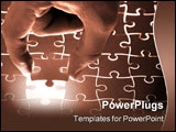 PowerPoint Template - holding a puzzle piece please check my portfolio for more!