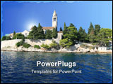 PowerPoint Template - island burano, venice, italy