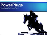 PowerPoint Template - Horse Jumping