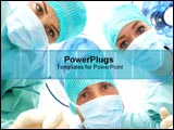 PowerPoint Template - Surgeons look inquisitive.