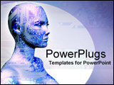 PowerPoint Template - human machine