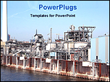 PowerPoint Template - image of a industry