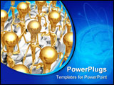 PowerPoint Template - a concept & presentation figure in 3d