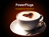 PowerPoint Template - coffee cup