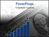 PowerPoint Template - value of dollar increasing at rapid rate