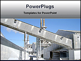 PowerPoint Template - industrial architecture works