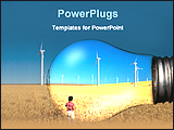 PowerPoint Template - image of power industry