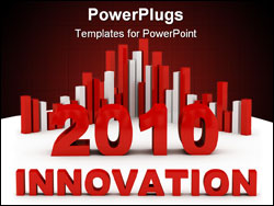 PowerPoint Template - innovation concept computer generated illustration foe special design