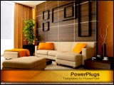 PowerPoint Template - Modern home design.