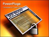 PowerPoint Template - Secure internet Browsing