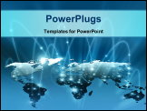 PowerPoint Template - Best Internet Concept of global business. From concepts series
