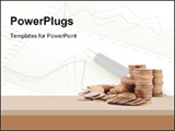 PowerPoint Template - Stack of money