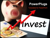 PowerPoint Template - invest money or savings in your business future