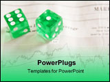 PowerPoint Template - Taking a risk in the stock market