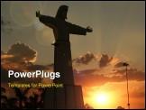 PowerPoint Template - jesus silhouette