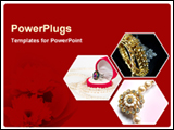 PowerPoint Template - varity of jewellery