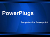 PowerPoint Template - abstract blue