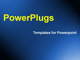 PowerPoint Template - lighted and dark corners
