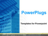 PowerPoint Template - business building