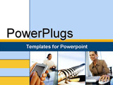 PowerPoint Template - palm pilot