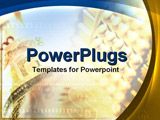 PowerPoint Template - money and abacus