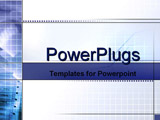 PowerPoint Template - grids with stock