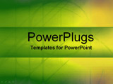 PowerPoint Template - bright glowing colors