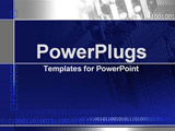 PowerPoint Template - computer chip