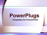 PowerPoint Template - streaks and boxes of purple and white