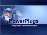 PowerPoint Template - surgeons operating