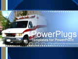 PowerPoint Template - emergency truck