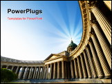 PowerPoint Template - Kazan Cathedral in St.Petersburg, Russia