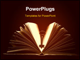 PowerPoint Template - Key to knowledge it is book ! ** Note: Slight graininess, best at smaller sizes